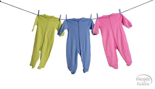Lavando la ropa de tu bebe