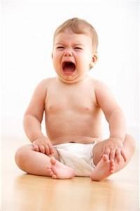 Cinco razones del llanto de un bebe