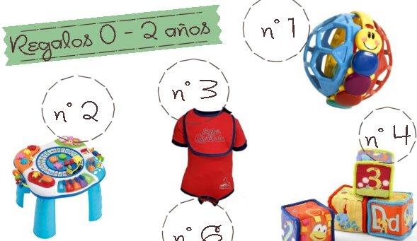 Regalos ideales para aprender y disfrutar de 0 a 2 años