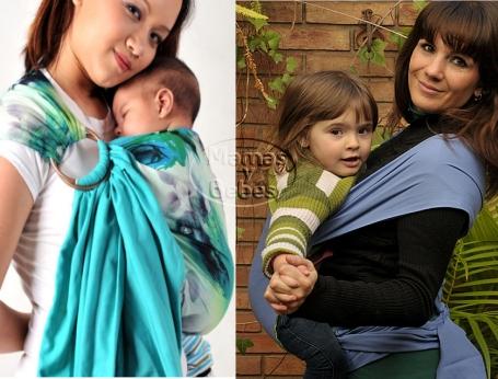 Mitos sobre el porteo o babywearing