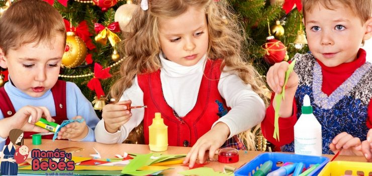 Navidad: manualidades infantiles fáciles