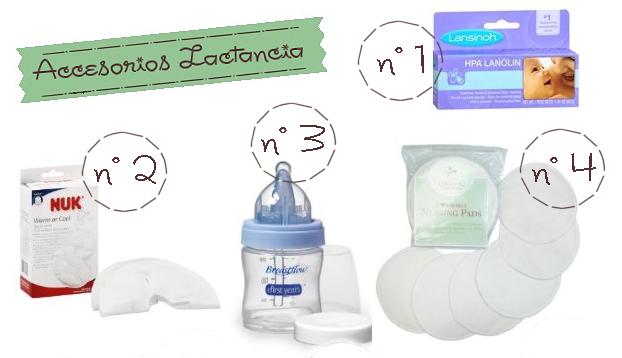 10 productos para ayudar a la lactancia materna