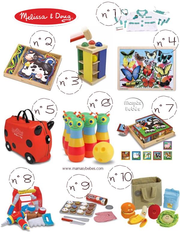 seleccion juguetes melissa and doug