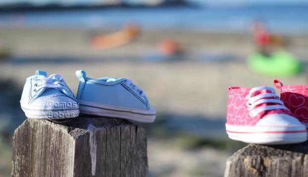 primeros zapatos del bebe