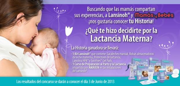 Lansinoh y Mamás y Bebés te ayudan con tu futura lactancia !