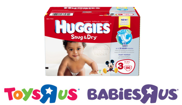 huggies and babies r us
