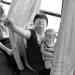 Autobús en China prueba asiento especial para lactancia materna