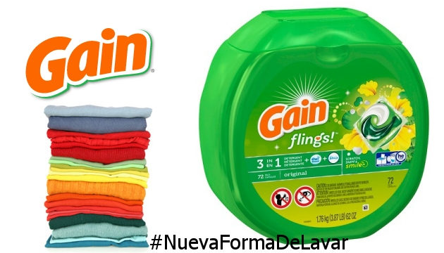 Gain Nueva Forma de Lavar