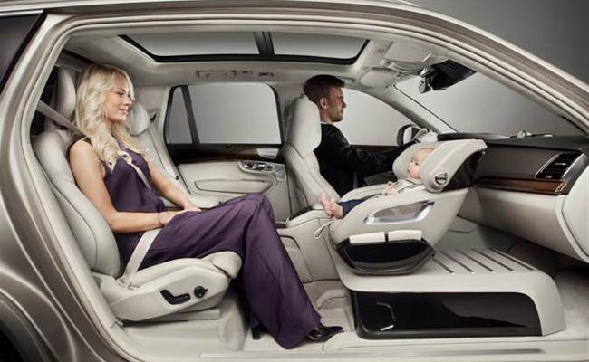 Asiento del nuevo Volvo