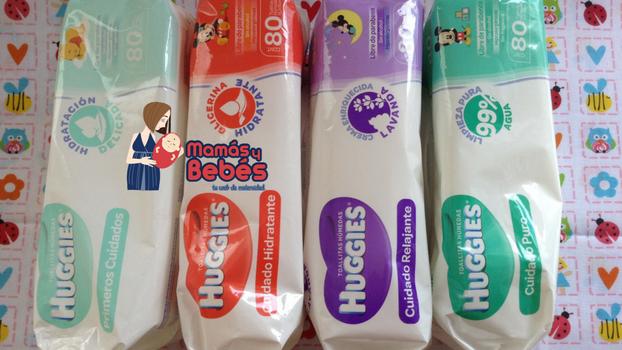 Las 4 mejores toallitas húmedas para bebés