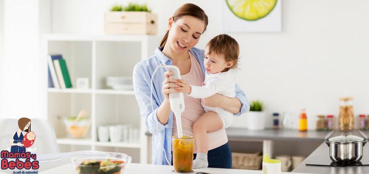 Robots de cocina para las comidas del bebe