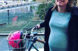 La ministra que llegó en bicicleta para dar a luz